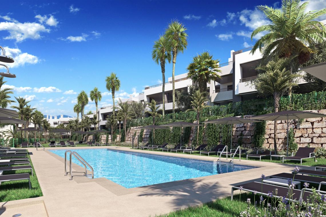 2, 3 bedroom & penthouse homes with top-quality design in Casares
