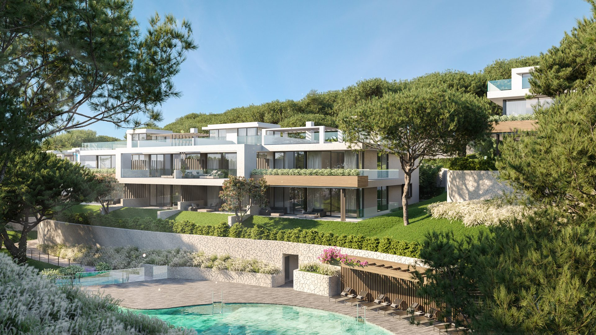 2 and 3 bedrooms apartments and penthouses in Marbella, Cabopino