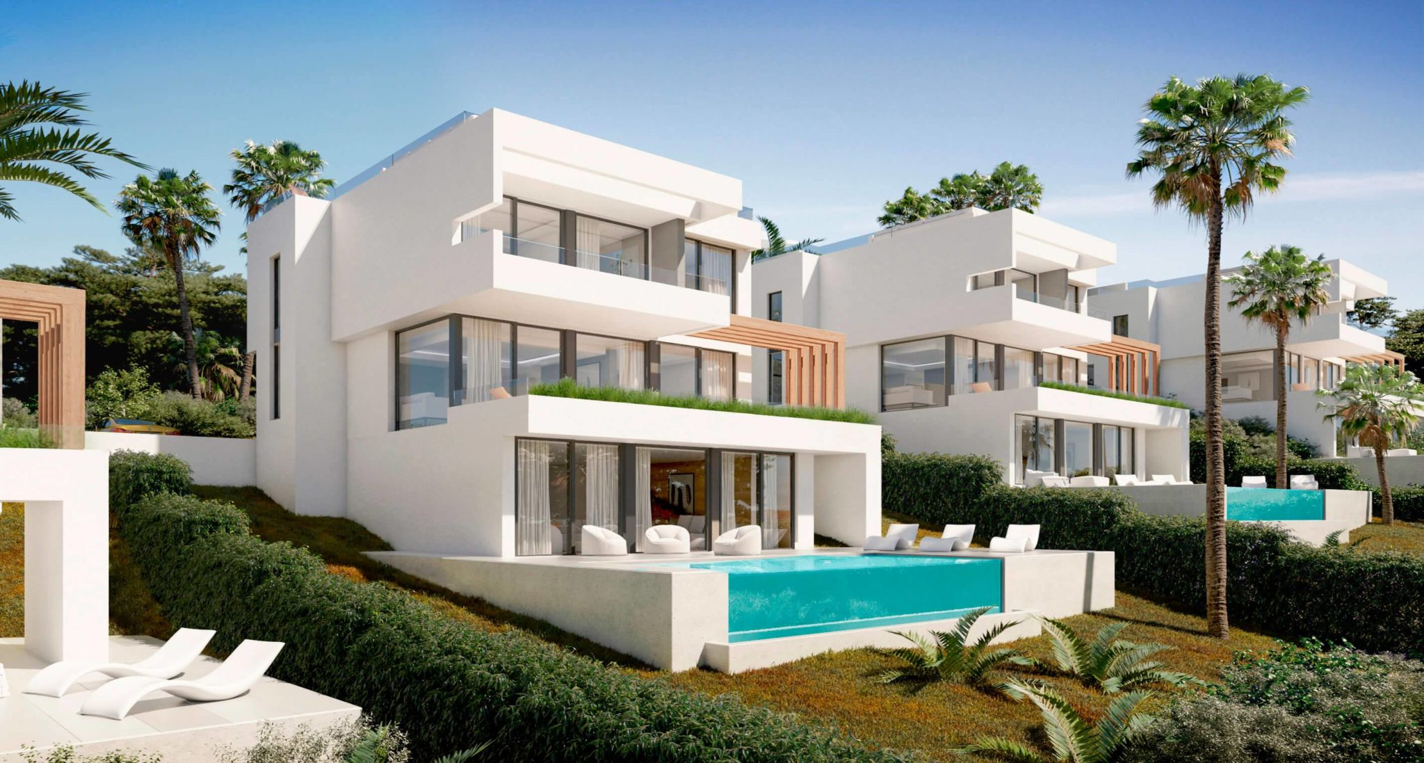 15 exclusive independent villas, with luxury qualities, Mijas costa