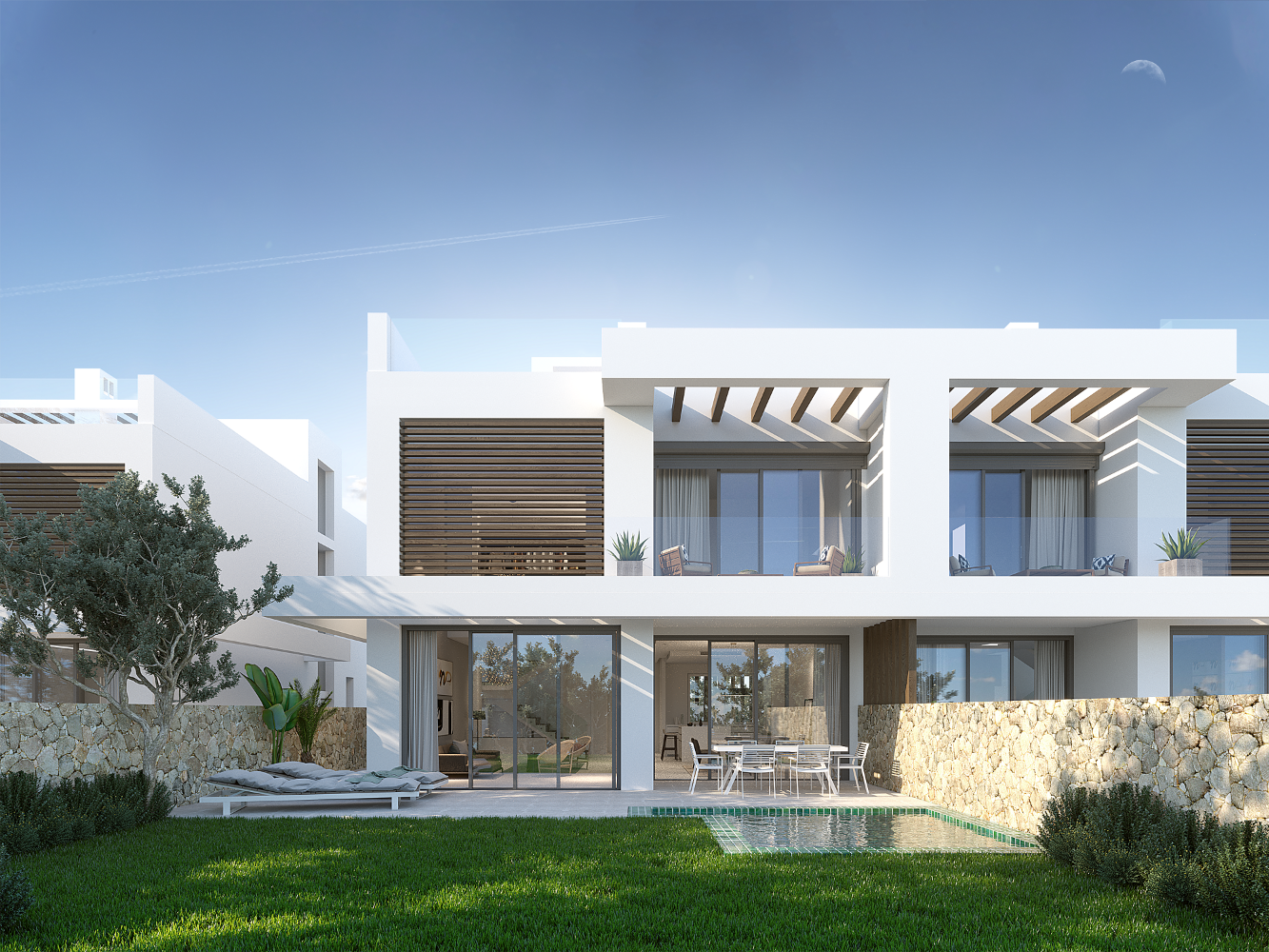 JUST 2 VILLAS REMAINING IN THIS BOUTIQUE DEVELOPMENT OF 6 VILLAS IN MARBELLA, CABOPINO