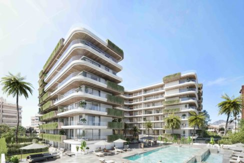 Tower new development fuengirola exterior