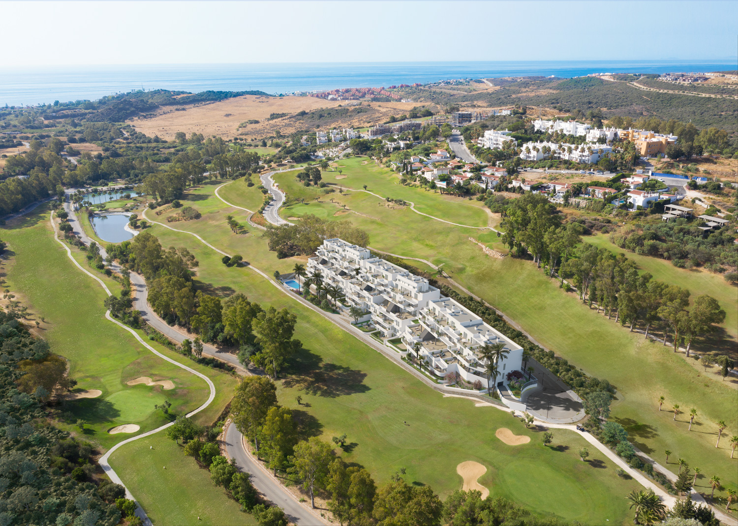 New Golf Residence – Apartments with views over golf courses in Estepona