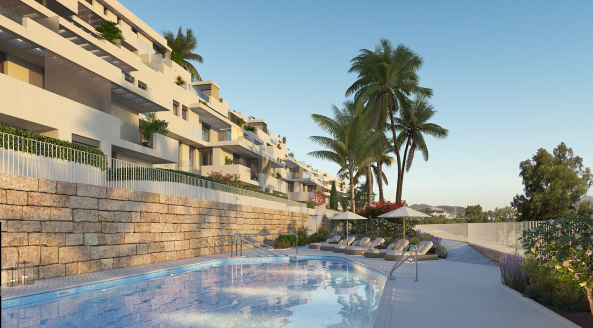 golf residence apartment estepona investment 2