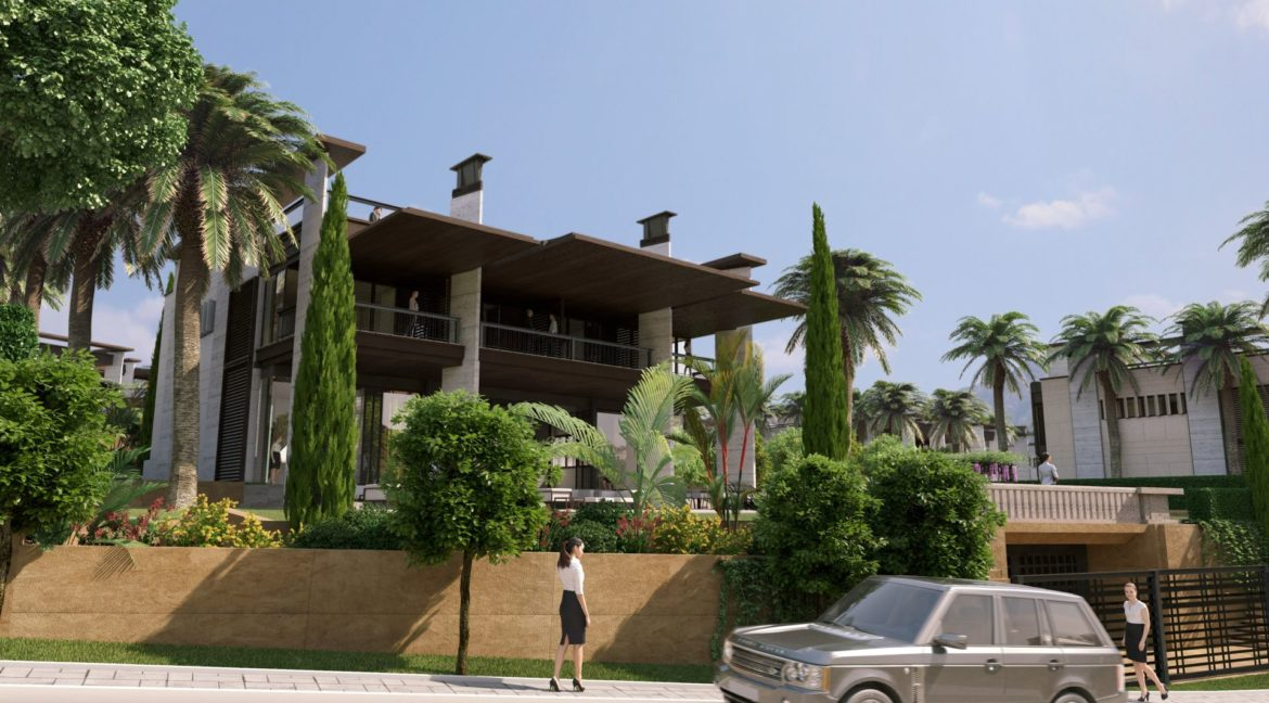 new villa development Banus 10