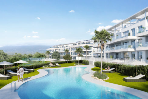 new development in Mijas Vitta nature