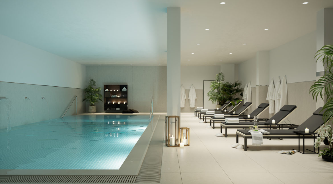 12.Indoor Heated Pool